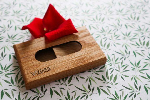 Woodlink houten pasjeshouder