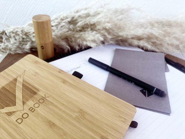 Duurzaam notitieboek van bambook