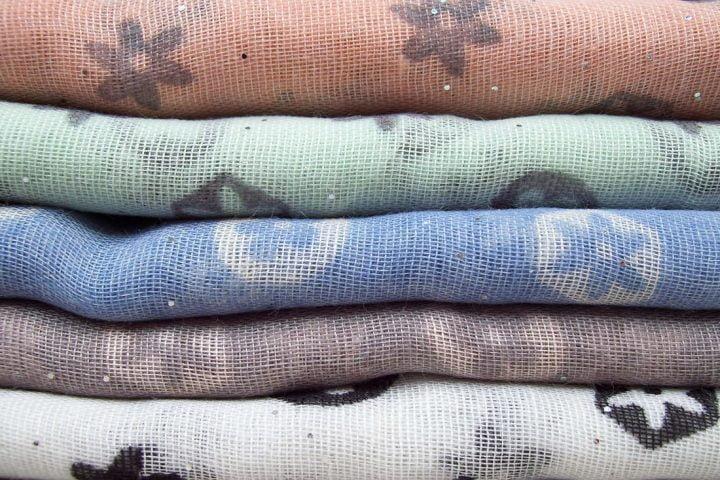 Microplastic in kleding