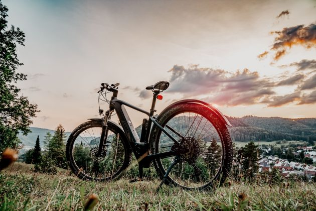 Elektrische mountain bike fiets